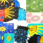Mystic celestial fashion sarong