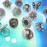 Discount fashion enamel traditional design rings