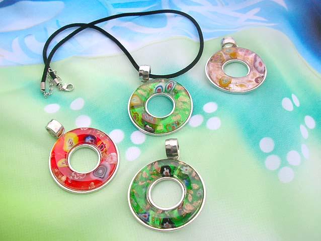 Murano glass jewelry murano glass pendant necklace wholesale murano murano glass pendant necklace wholesale murano glass jewelry circle pendant necklaces aloadofball Gallery