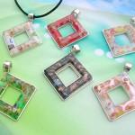 Wholesale handmade jewelry murano glass necklaces