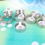 Wholesale Stainless Steel Jewelry Rings with CZ