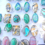 Wholesale in group, fashion assorted gemstone ring