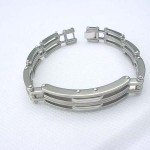 Separate line fashion stainless steel bracelet