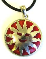 Fashion enamel necklace