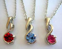 Fashion cz necklace