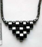 Fashion health care hematite necklace