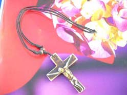 Men's fashion celtic cross necklace
