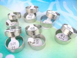 wholesale men's jewelry stainless steel band rings