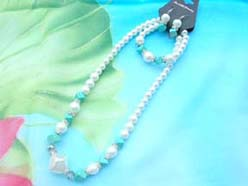 beaded-jewelry-set002faux-pearl-turquoise
