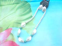 beaded-jewelry-set003faux-pearl-turquoise