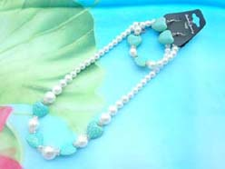 beaded-jewelry-set012faux-pearl-turquoise