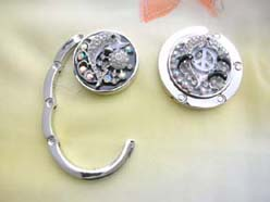 wholesale purse hook dolphin cz enamel jewelry accessories