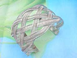 weave cut-out bangle