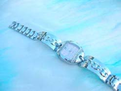 Marina fashion cz bangle watch