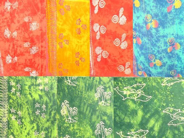 Mono Stamped Mono Color Fashion Sarong
