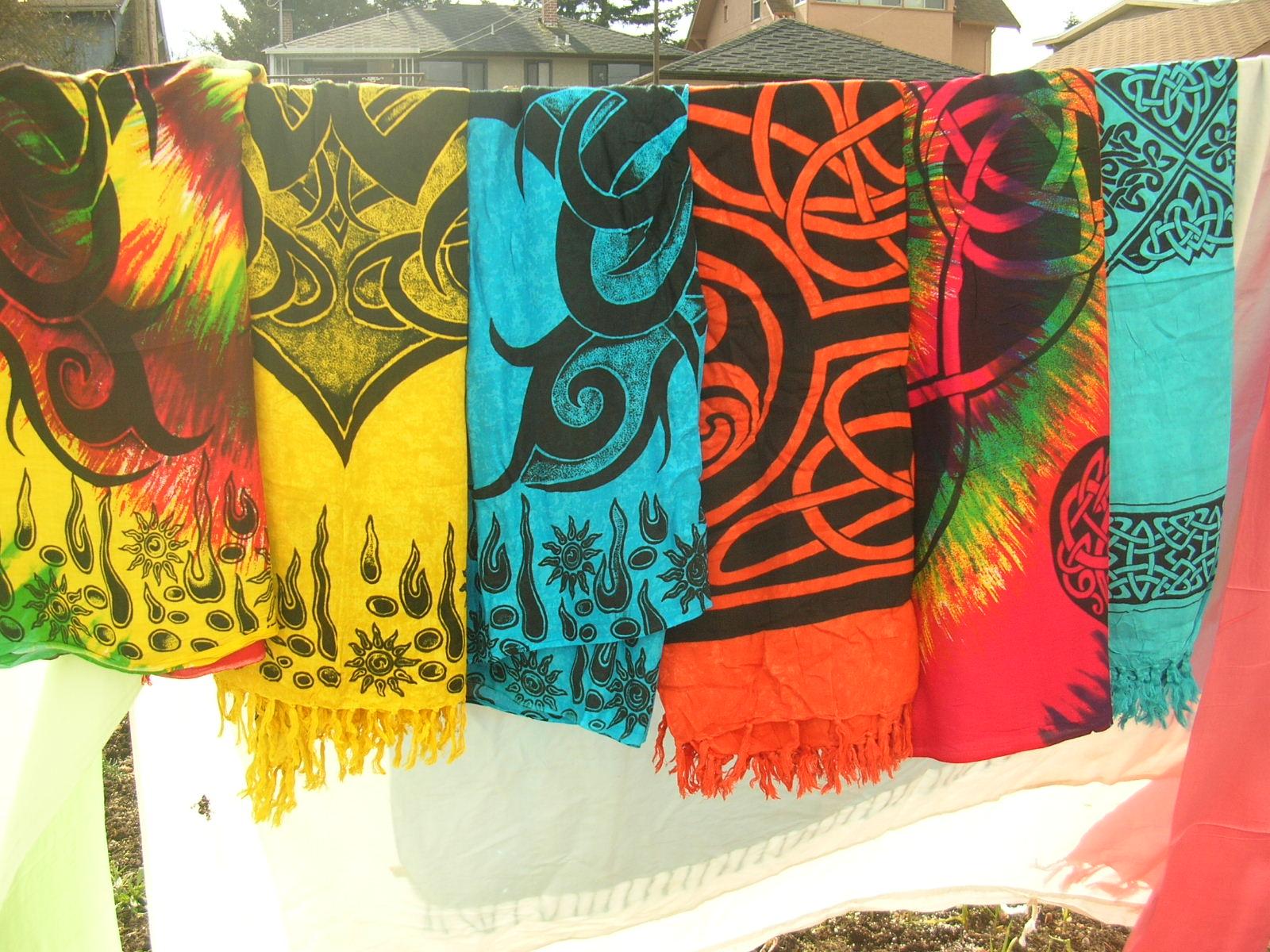 Religious Celtic Batik Sarong
